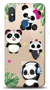 Xiaomi Mi 8 Happy Panda Kılıf