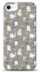 iPhone SE 2020 Sweety Cats Kılıf