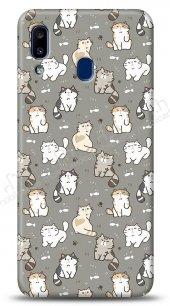 Samsung Galaxy A20S Sweety Cats Kılıf