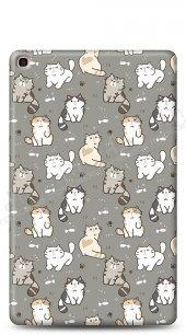 Samsung Galaxy Tab S5e SM-T720 Sweety Cats Kılıf