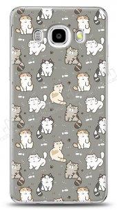 Samsung Galaxy J7 2016 Sweety Cats Kılıf