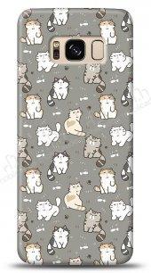 Samsung Galaxy S8 Sweety Cats Kılıf