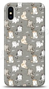iPhone X Sweety Cats Kılıf