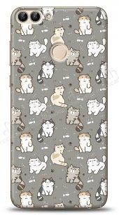 Huawei P Smart Sweety Cats Kılıf