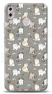 Asus ZenFone 5 ZE620KL Sweety Cats Kılıf