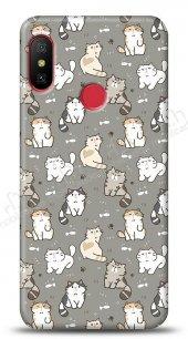 Xiaomi Redmi Note 6 Pro Sweety Cats Kılıf
