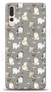 Huawei P20 Pro Sweety Cats Kılıf