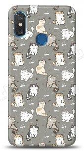 Xiaomi Mi 8 Sweety Cats Kılıf