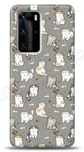 Huawei P40 Sweety Cats Kılıf