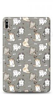 Huawei MatePad 10.4 Sweety Cats Kılıf
