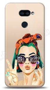 LG K40S Color Girl Boss Kılıf