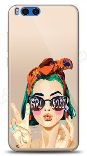 Xiaomi Mi Note 3 Color Girl Boss Kılıf