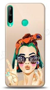 Huawei P40 Lite E Color Girl Boss Kılıf