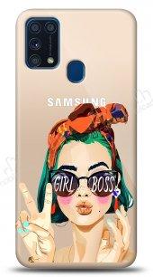 Samsung Galaxy M31 Color Girl Boss Kılıf