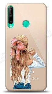 Huawei P40 Lite E Pretty Girl Kılıf