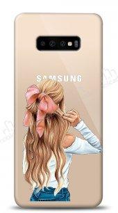 Samsung Galaxy S10 Plus Pretty Girl Kılıf