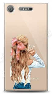 Sony Xperia XZ1 Pretty Girl Kılıf