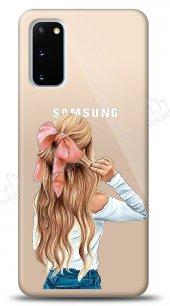 Samsung Galaxy S20 Pretty Girl Kılıf