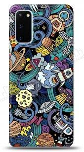 Samsung Galaxy S20 Rocket Space Kılıf