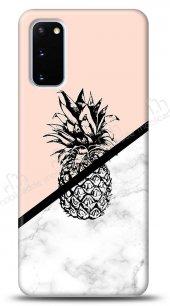 Samsung Galaxy S20 Granit Ananas Kılıf