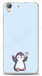 Huawei Y6 ii Kalp Penguen Kılıf