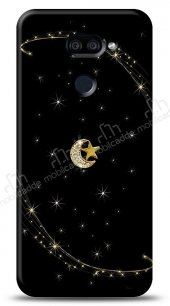 LG K40S Ay Yıldız Gökyüzü Taşlı Kılıf