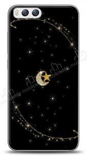 Xiaomi Mi 6 Ay Yıldız Gökyüzü Taşlı Kılıf