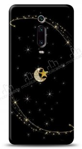 Xiaomi Mi 9T Ay Yıldız Gökyüzü Taşlı Kılıf