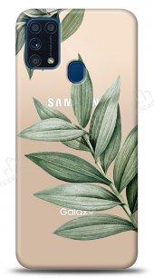 Samsung Galaxy M31 Leaf Kılıf