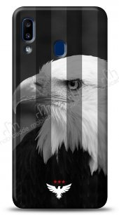 Samsung Galaxy A20S 3 Yıldız Kartal Kılıf