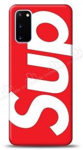 Samsung Galaxy S20 Supreme Kırmızı Kılıf