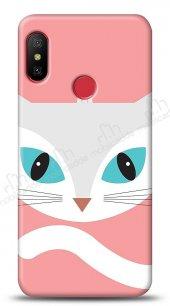 Xiaomi Redmi Note 6 Pro Big Face Cat Kılıf
