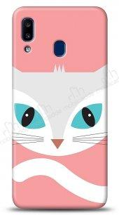 Samsung Galaxy A20S Big Face Cat Kılıf