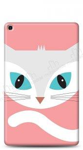 Samsung Galaxy Tab S5e SM-T720 Big Face Cat Kılıf