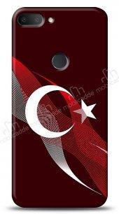 Alcatel 1s Bayrak Çizgiler Kılıf