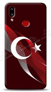 Samsung Galaxy A10S Bayrak Çizgiler Kılıf