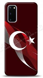 Samsung Galaxy S20 Bayrak Çizgiler Kılıf