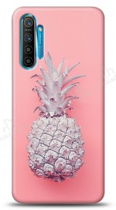Realme 6 Pro Pink Ananas Kılıf
