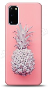 Samsung Galaxy S20 Pink Ananas Kılıf