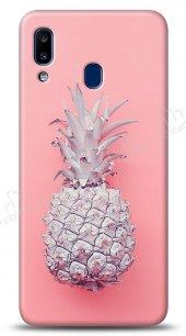 Samsung Galaxy A20S Pink Ananas Kılıf