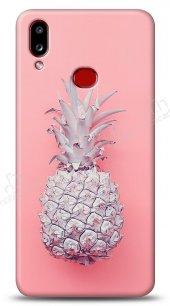 Samsung Galaxy A10S Pink Ananas Kılıf
