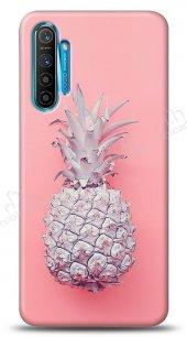 Realme C3 Pink Ananas Kılıf