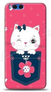 Xiaomi Redmi Note 3 Pink Cat Kılıf