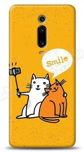 Xiaomi Mi 9T Selfie Cat Kılıf