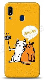 Samsung Galaxy A20S Selfie Cat Kılıf