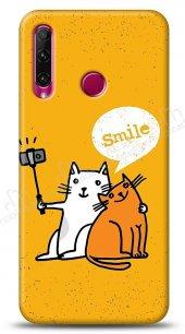Honor 20 Lite Selfie Cat Kılıf