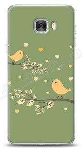 Dafoni Samsung Galaxy C7 Birdie 4 Kılıf