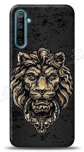 Realme 6 Gold Lion Kılıf