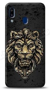 Samsung Galaxy A20S Gold Lion Kılıf
