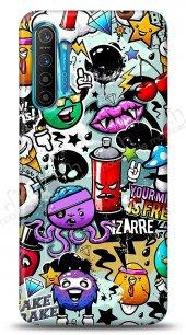 Realme XT Grafitti 2 Kılıf